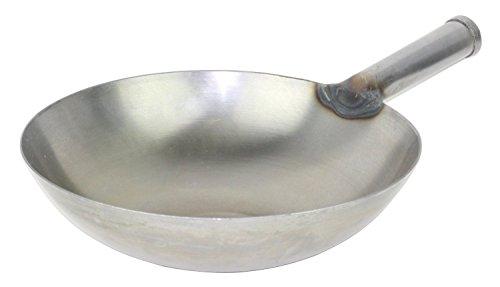 Steel wok round bottom reserve