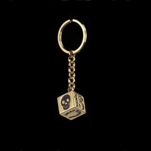 Rotten Luck Dice Keychain By Dl & Co