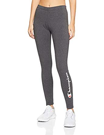 Champion Women's Essential Leggings, Granite Heather, X-Small