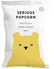 Serious Foods Popcorn - Sweet & Salty 80g (12 pack)