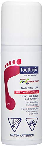 FOOTLOGIX Nail Tincture Spray with Spiraleen