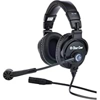 Clear-Com CC-400-X4 Double-Ear Headset with 4-pin Female XLR-by-Clear-Com