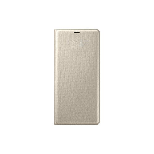 Samsung Original LED Folio View Cover Case for Galaxy Note 8 - Gold