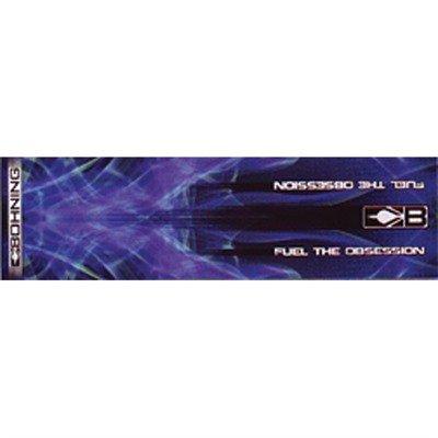 Bohning 4-Inch Carbon HD Arrow Wraps, Blue X-Ray, Standard