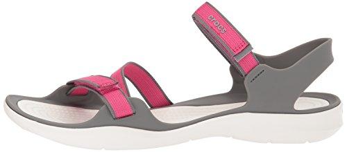 5ef050511fd2 crocs Women s Swiftwater Webbing W Sport Sandal
