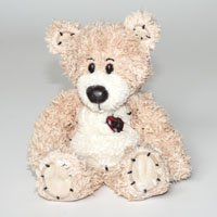 BeanTowne Collection - 7 inch Green Tea & Lemongrass Scented Soy Sweetheart Bear (No Burn Room Fragrancer)