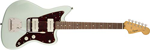 Squier by Fender Classic Vibe 60's Jazzmaster Electric Guitar – Laurel – Sonic Blue