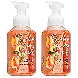 Bath & Body Works, Gentle Foaming Hand Soap, Peach Bellini (2-Pack)