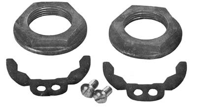Crank Pin Nut - V-Twin 10-0335 Crank Pin Nut and Lock Kit
