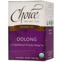 Choice Organic Teas Organic Oolong Tea, 16 BAGS (Pack of 2)