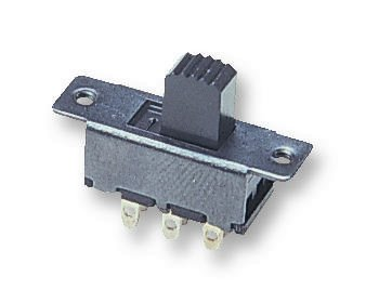 SLIDE SWITCH MINIATURE DPCO - Slide Switch, DPDT, Vertical, Panel, 500 mA RoHS Compliant: Yes (Pack of 5) (SLIDE SWITCH MINIATURE DPCO) by MULTICOMP
