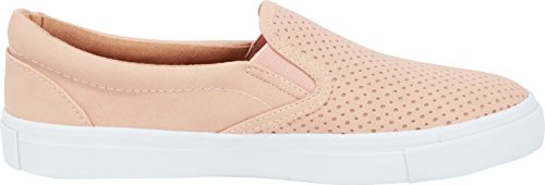 Slip Laser Perforated Toe Select Sneaker Nbpu Flatform Round Fashion Dusty Mauve On Cambridge Cutout Women's qUwWF
