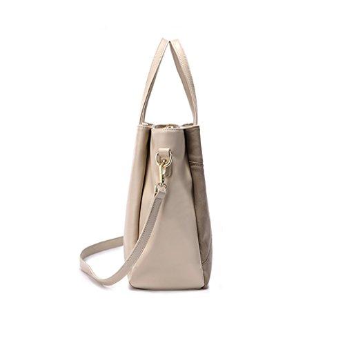 Sacs à main de dames de grande capacité Sacs à main de dames simple Sac à grande capacité de sac à main Matte tissu de couture