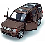 Welly Land Rover Discovery, Brown 24008 - 1/24 scale Diecast Model Toy Car, but NO BOX