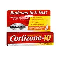 Cortizone-10 Cortizone-10 Anti-Itch Ointment Maximum Strength - 1 oz (Pack of 3)