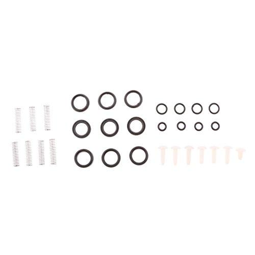 Dolity High Pressure Washer Pump 280 380 Oil Seal/Water Seal Repair Bag Parts Kit -