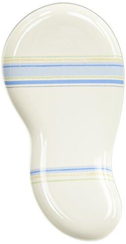 Noritake Java Blue Swirl Oval Platter