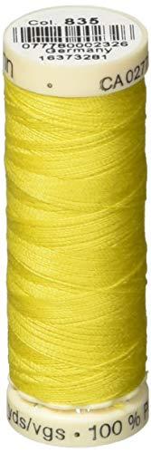 Gutermann Sew-All Thread 110 Yards-Lemon