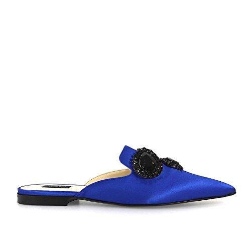 Zapatos Zueco Pinko Azul Naranja Joya Con 2018 Summer De Mujer Spring rFnW4Brq