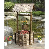 Review Grand Wishing Well Planter
