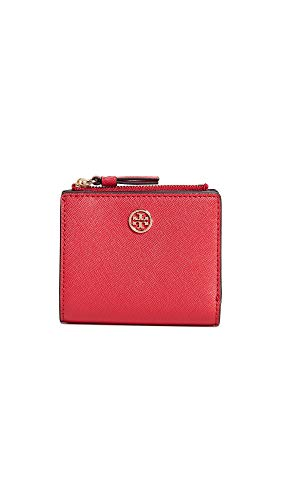 Robinson Mini - Tory Burch Women's Robinson Mini Wallet, Brilliant Red, One Size
