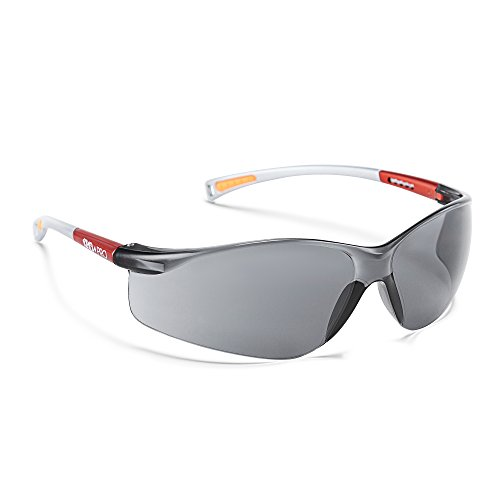 EyeArmour Antifog Safety Glasses for Men and Women   Wraparound Eye Protection Goggles with Antiscratch Lenses (Grey)