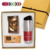 (Tuscany Tumbler & Godiva Deluxe Gift Set 10 QUANTITY- $40.95 EACH /PROMOTIONAL PRODUCT / BULK / BRANDED with YOUR LOGO / CUSTOMIZED)