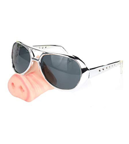 Fake Pig Nose Fancy Dress up Costume Props Cosplay ()