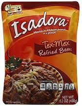 Isadora Tex-Mex Refried Beans 15.2-Ounce (Pack Of 12) by Verde Valle Foods