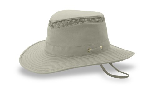 Tilley Endurables T4MO Eco-Airflo Hat, Khaki/Olive, 7 5/8 by Tilley