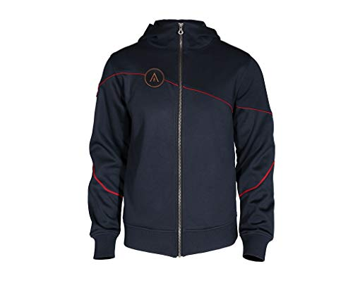 Assassin's Creed Odyssey - Spartan Hero Hoodie (Navy, X-Large)
