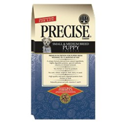 Precise Naturals Small & Medium Breed Puppy Formula Dry Dog Food, 5lb