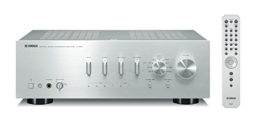 Yamaha A-S801SL Natural Sound Integrated Stereo Amplifier (Silver) (Best Integrated Amp With Phono Stage)