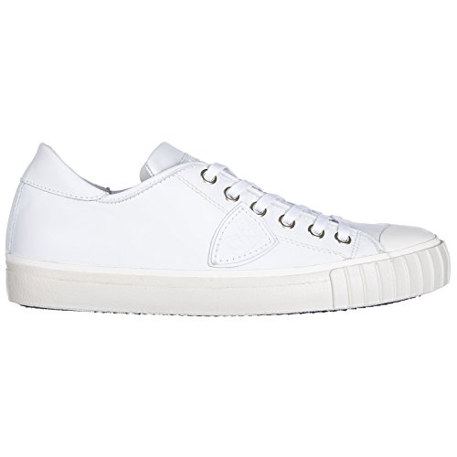 Model Philippe blanc Uomo Gare Blanc Sneakers Blanc znqBwd