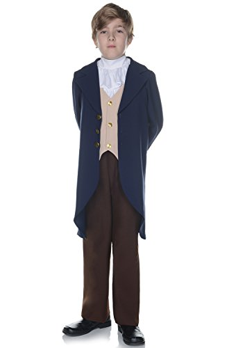 Underwraps Children's Thomas Jefferson Costume -