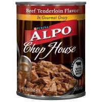 Alpo Chop House Beef Tenderloin Flavor Dog Food 13 oz