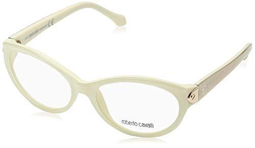 Roberto Cavalli RC0769 - 025 Eyeglass Frame White/ivory frame w/ Clear Demo Lens ()