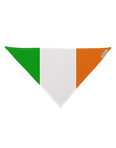 TooLoud Irish Flag - Flag of Ireland Printed White Dog Bandana 26