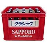 サッポロクラシック中瓶500mlx20本1ケース 北海道限定
