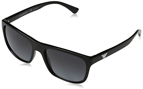 b74667d4d Emporio Armani EA4085 5017T3 Black EA4085 Wayfarer Sunglasses Polarised  Lens Ca - Buy Online in UAE. | Apparel Products in the UAE - See Prices,  Reviews and ...