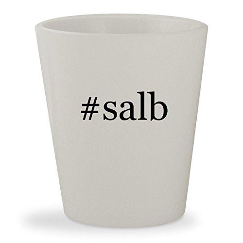 Price comparison product image #salb - White Hashtag Ceramic 1.5oz Shot Glass