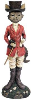 design-toscano-statue-tally-ho-equestrian-fox-pack-of-1