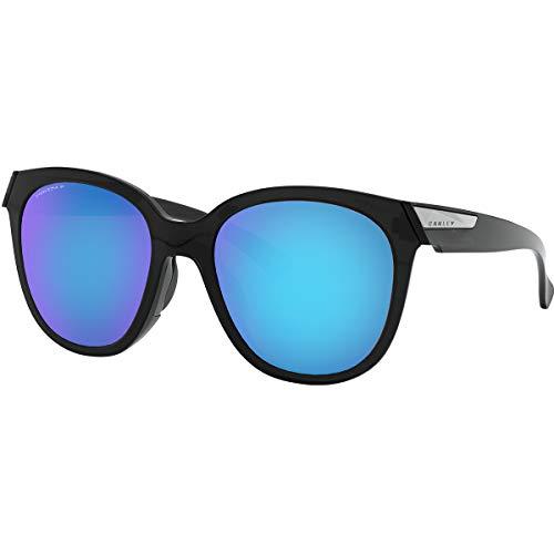 Oakley Women's Low Key Sunglasses,OS,Black Ink/Prizm Sapphire -