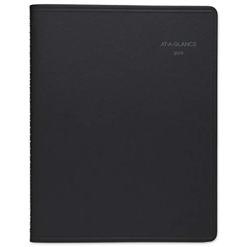 AT-A-GLANCE 2019 Monthly Planner / Appointment Book, QuickNotes, 8-1/4