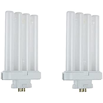 Dysmio Lighting Fml27 4 Pin Quad Tube 65000k 2 Pack
