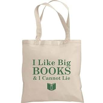 I Like Big Books: Liberty Bags Canvas Bargain Tote Bag