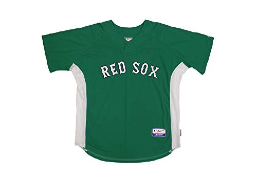 Jacoby Ellsbury #46 Boston Red Sox St. Pattys Patrick's Day Authentic Kelly Green Batting Practice Jersey ()