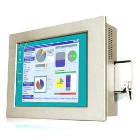 (DMC Taiwan) 15 inches 450 cd/m2 XGA Panel PC with POS-H61, Pentium Dual Core G6xxt (Above 2.2ghz), TDP 35W, 2GB DDR3 RAM x 2, Silver Color, PSU ACE-4520C, Touch Screen ()