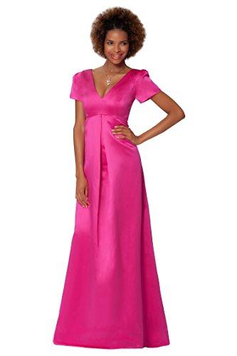 SEXYHER Gorgeous Encuadre de cuerpo entero de damas de honor vestido de noche formal - EDJ1621 Lightfuchsia
