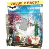 Dark Knight Battle Cape (Dark Knight Rare collectors Item Battle Cape Batman VS Destructo-Case The Joker)
